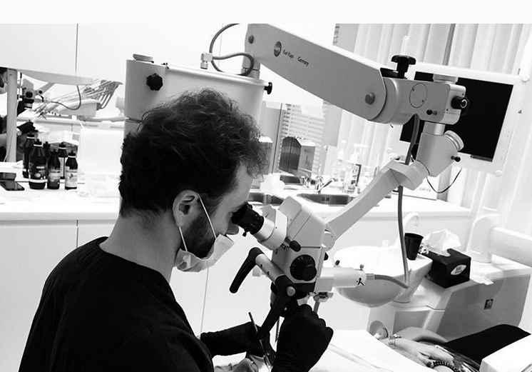 leczenie zębów pod mikroskopem, stomatolog Wrocław