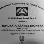 Honorata Krawczykowska, dobry stomatolog Wrocław
