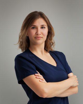 Dyplomowana higienistka stomatologiczna Maja Sawko