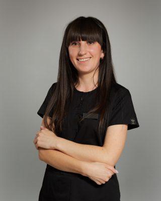 Dyplomowana higienistka stomatologiczna Tetiana Paranych